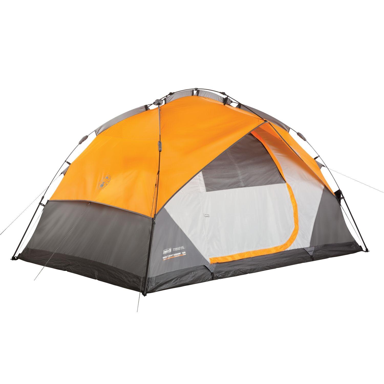3d Home Builder Coleman Instant Dome 5 Person Signature Tent