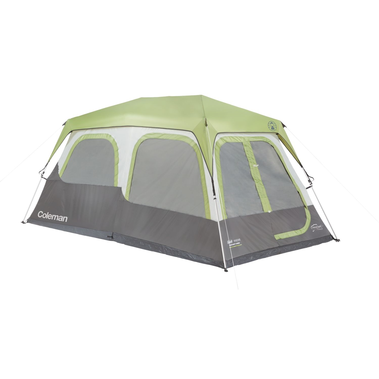 8 Person Instant Cabin Tent : Coleman tent instant cabin person w fly signature x