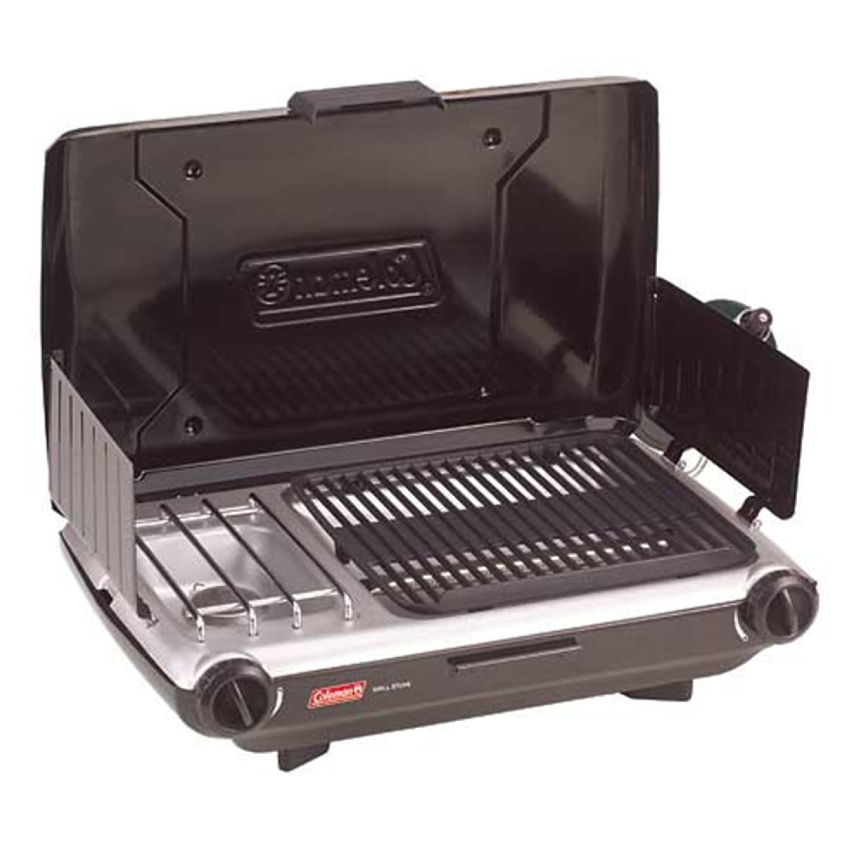 Coleman 2 Burner Grill Stove Combo Black 2000004118