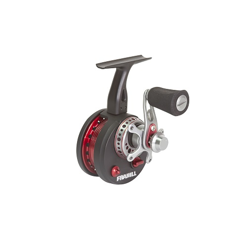 Frabill straight line 371 ice fishing reel in clamshell pack for In line ice fishing reel