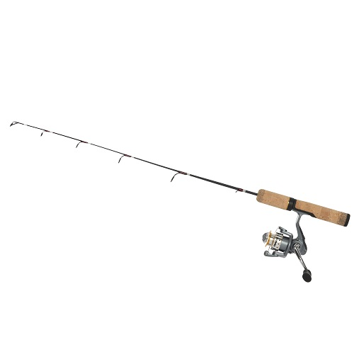 Frabill bro series 28 medium ice fishing rod and reel combo for In line ice fishing reel