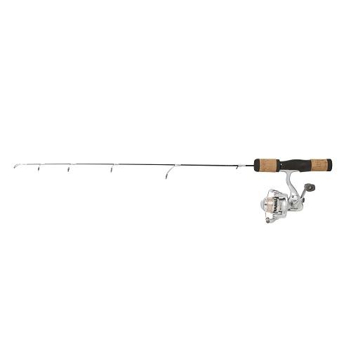 Frabill fin s pro 30 medium ice fishing rod and reel combo for Ice fishing rod and reel combo