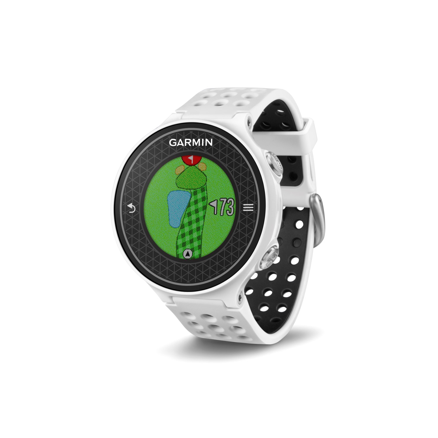 garmin approach s6 gps golf watch white black. Black Bedroom Furniture Sets. Home Design Ideas