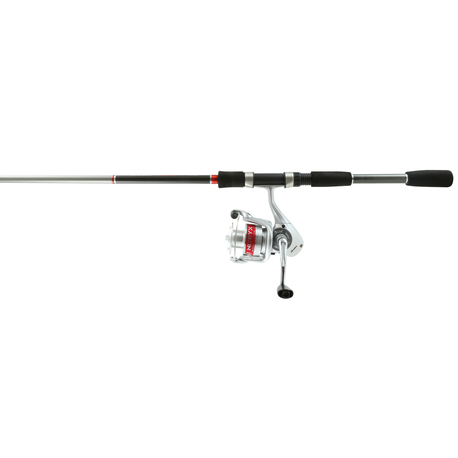 Okuma nitryx combos 6 ft 6 in med 2 piece rod size 30 reel for Kmart fishing pole