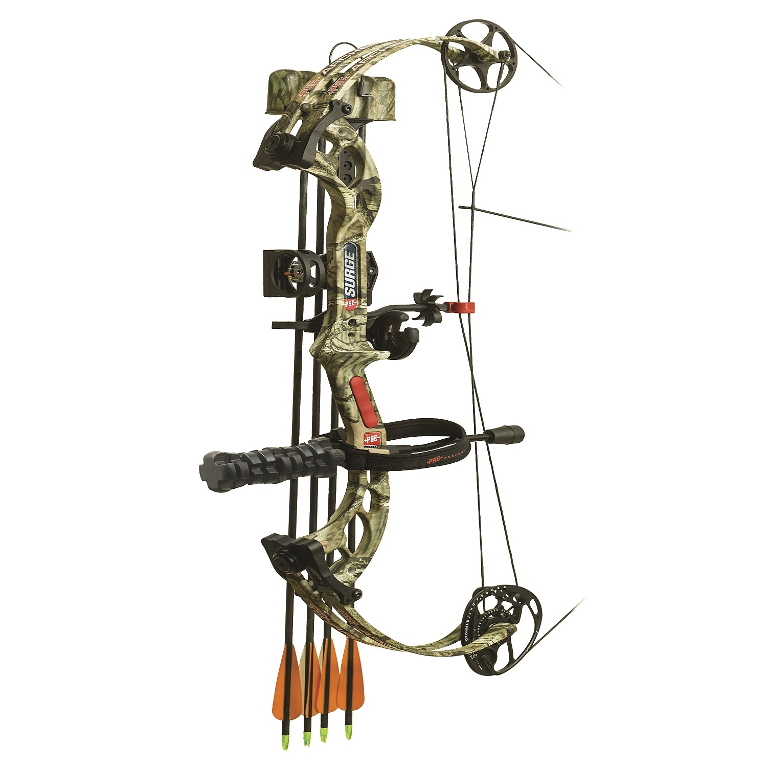 Pse ready to shoot stinger x bow rh break up infinity 60 for Compound bow fishing