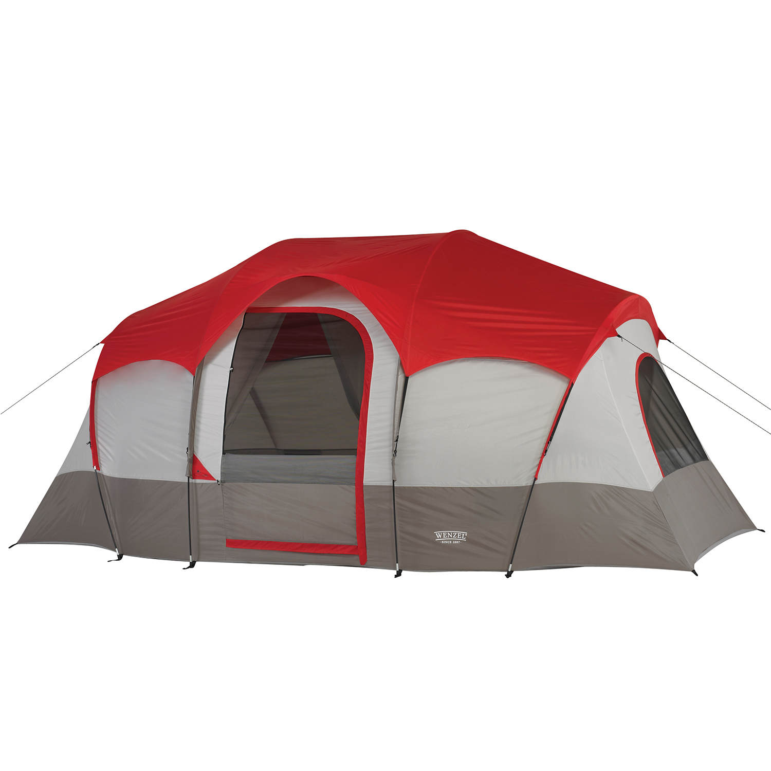 tents 7 person tents wenzel blue ridge 7 person 2 room 14 feet by 9