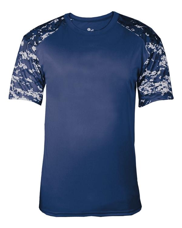 Badger Digital Battle Sport Tee Shirt