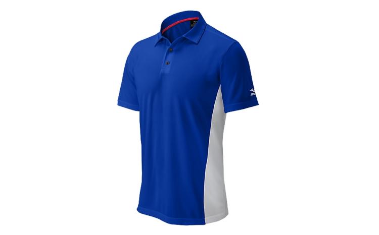 mizuno mens elite polo baseball tee shirt 350531