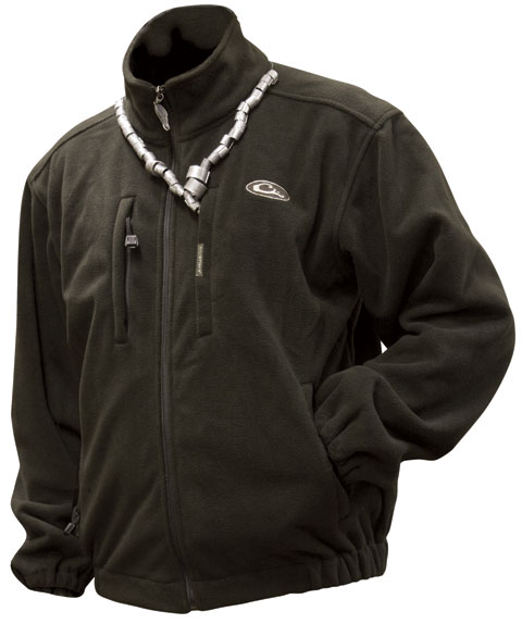 Drake windproof layering coat for Drake fishing shirts