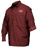 Drake Mississippi State Vented Long Sleeve Wingshooters Shirt