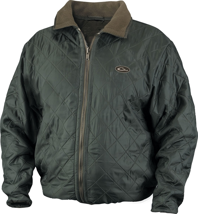 Drake delta quilted fleece lined jacket for Drake fishing shirts