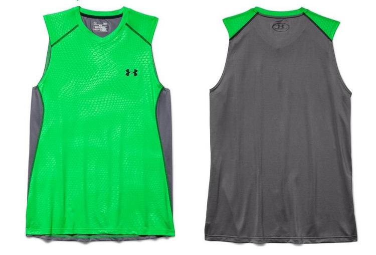 Ua mens raid sleeveless training t shirt 1257467 for Bulk under armour shirts