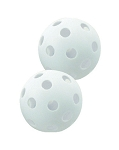 "Champion White 9"" Plastic Baseballs 12 Pack"