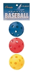 Champion Plastic Baseball Set Of 3