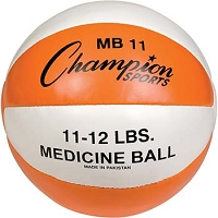 Champion Leather 11-12 lbs Medicine Ball