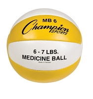 Champion Leather 6-7 lbs Medicine Ball