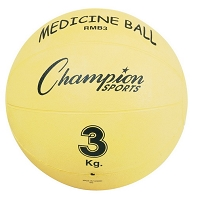 Champion Rubber Yellow Ball