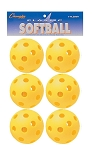 Champion Yellow Plastic Softball Pack