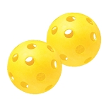 "Champion 12"" Yellow Plastic Softball Pack 6 Pack"