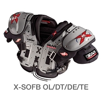 Gear Protec X2 Air X SOFB Shoulder Pad - SIZE 6XL