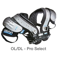 Gear Protec Adult Z Cool Pro Pad OL/DL