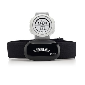 Magellan echo fit sports watch with heart rate monitor gray for Magellan fishing shirts wholesale
