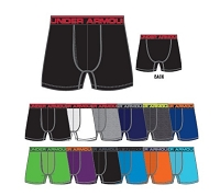 Under Armour Mens Original 6 Inch Boxerjock Boxer Briefs
