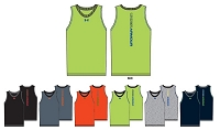 Under Armour Boys Charged Cotton Basketball Tank