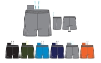 Under Armour Mens Launch Woven 5 Inch Running Shorts