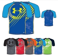 Under Armour Boys UA Show Me Sweat UPF Sleeve T Training T Shirt