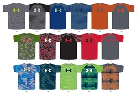 Under Armour Tech Boys Big Logo Novelty Shortsleeve T Shirt