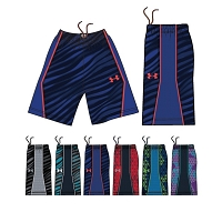 Under Armour Mens Court Vader Basketball Shorts