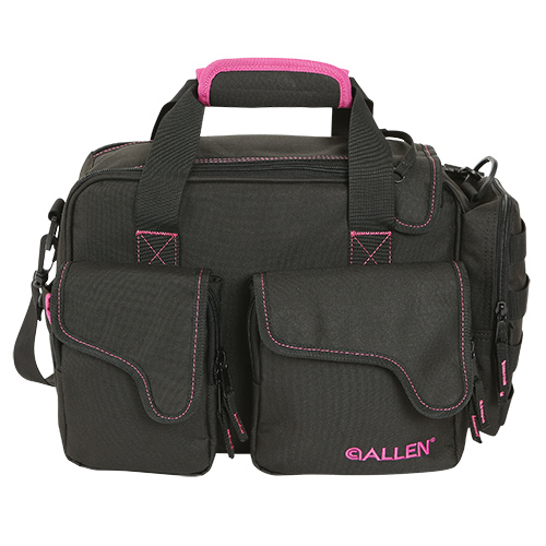 Allen Cases Dolores Compact Range Bag Black/Orchid Dolores Compact Range Bag, Black/Orchid