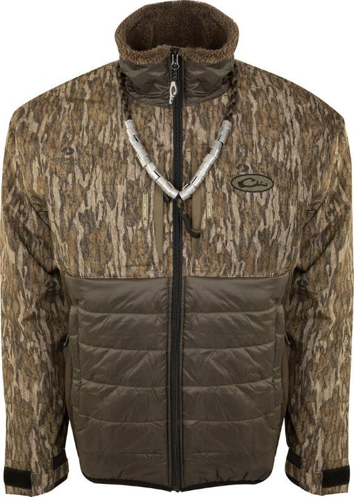 Drake LST Guardian Flex Double Down Eqwader Full Zip