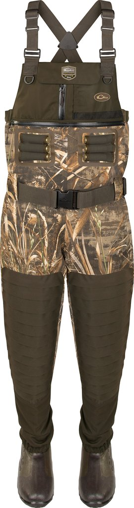 Drake Guardian Elite 6-Layer 4-in-1 Chest Wader with Tear-Away Liner