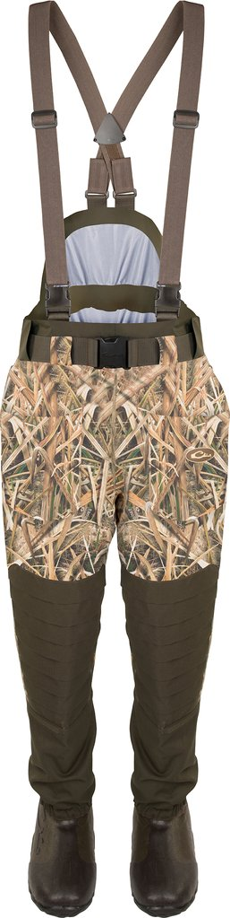 Drake Guardian Elite 6-Layer 4-in-1 Waist-High Wader w/Tear-Away Liner - Size 11