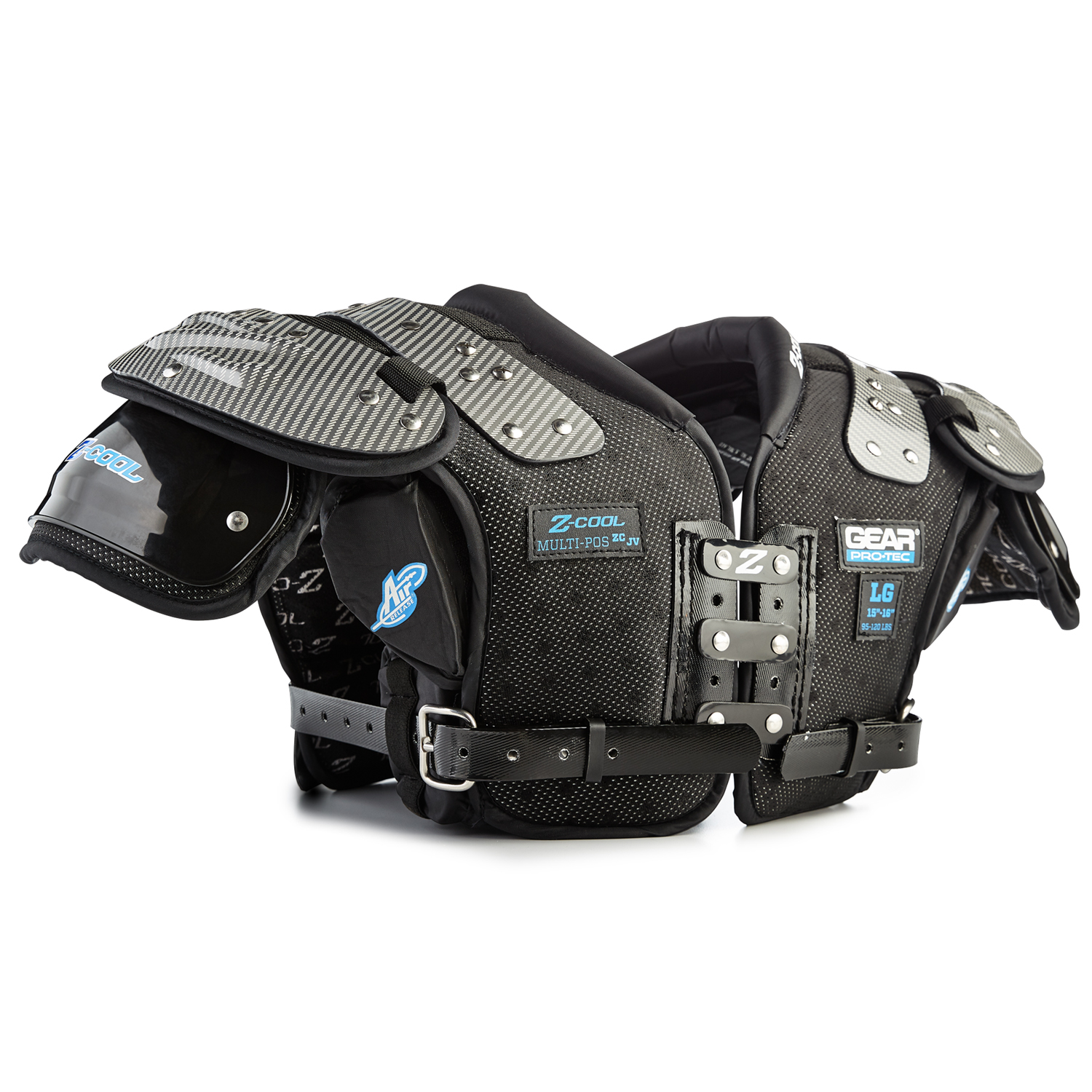 Gear Pro Tec Z-Cool JV Youth Shoulder Pads