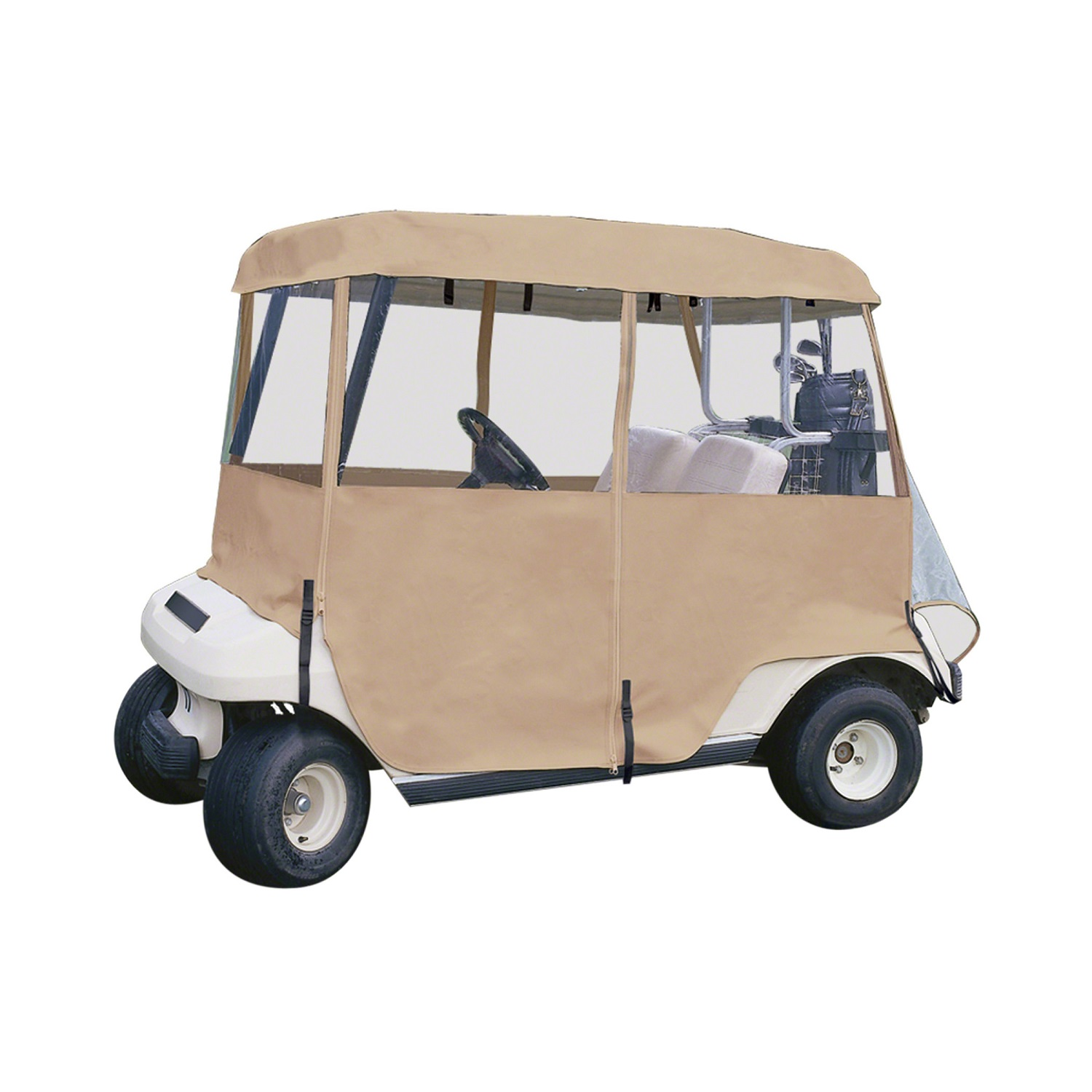 Classic Accessories Deluxe Golf Cart Enclosure 2 Person