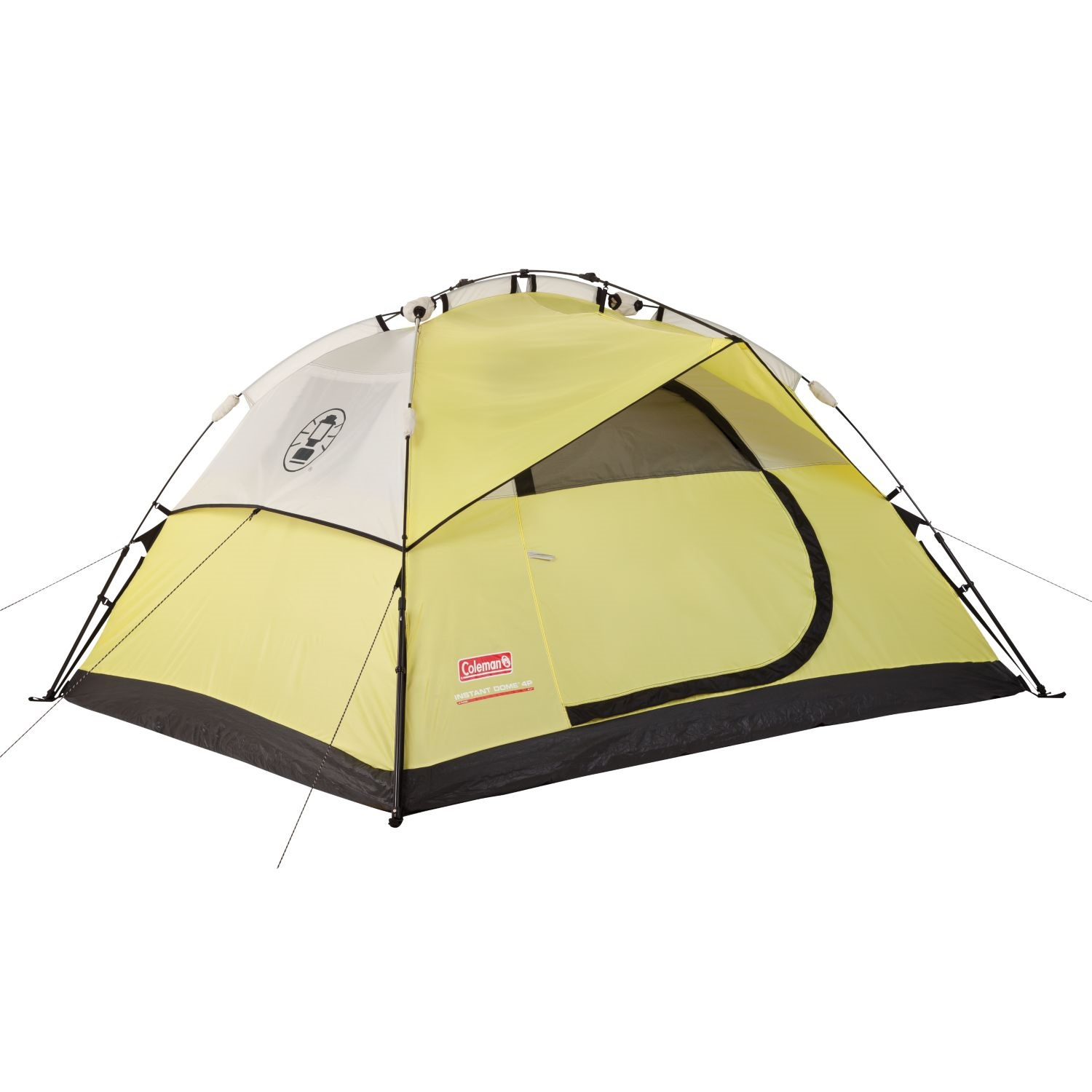 4 Person Instant Tent : Coleman instant dome person double hub tent