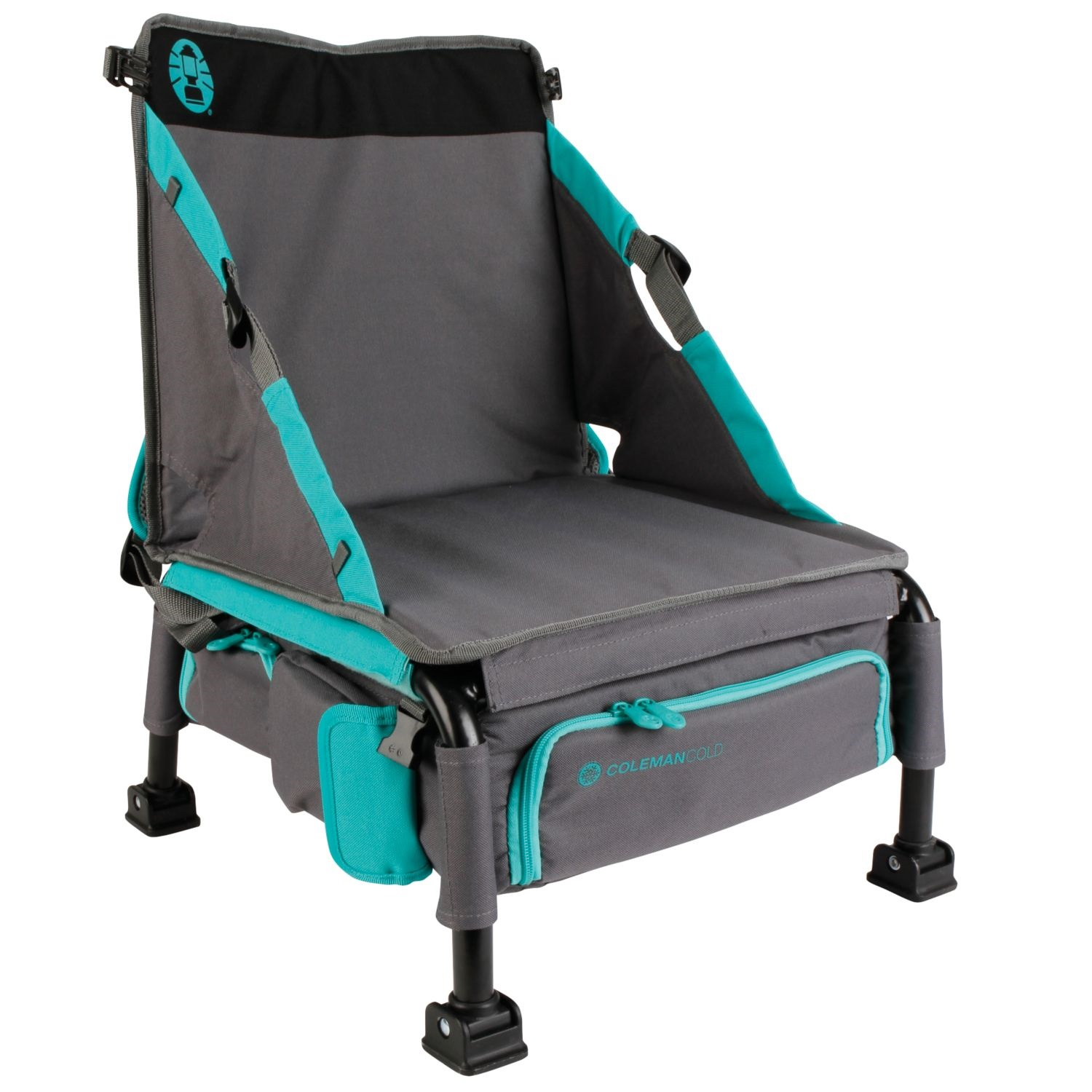 Coleman Treklite Plus Coolerpack Chair Teal
