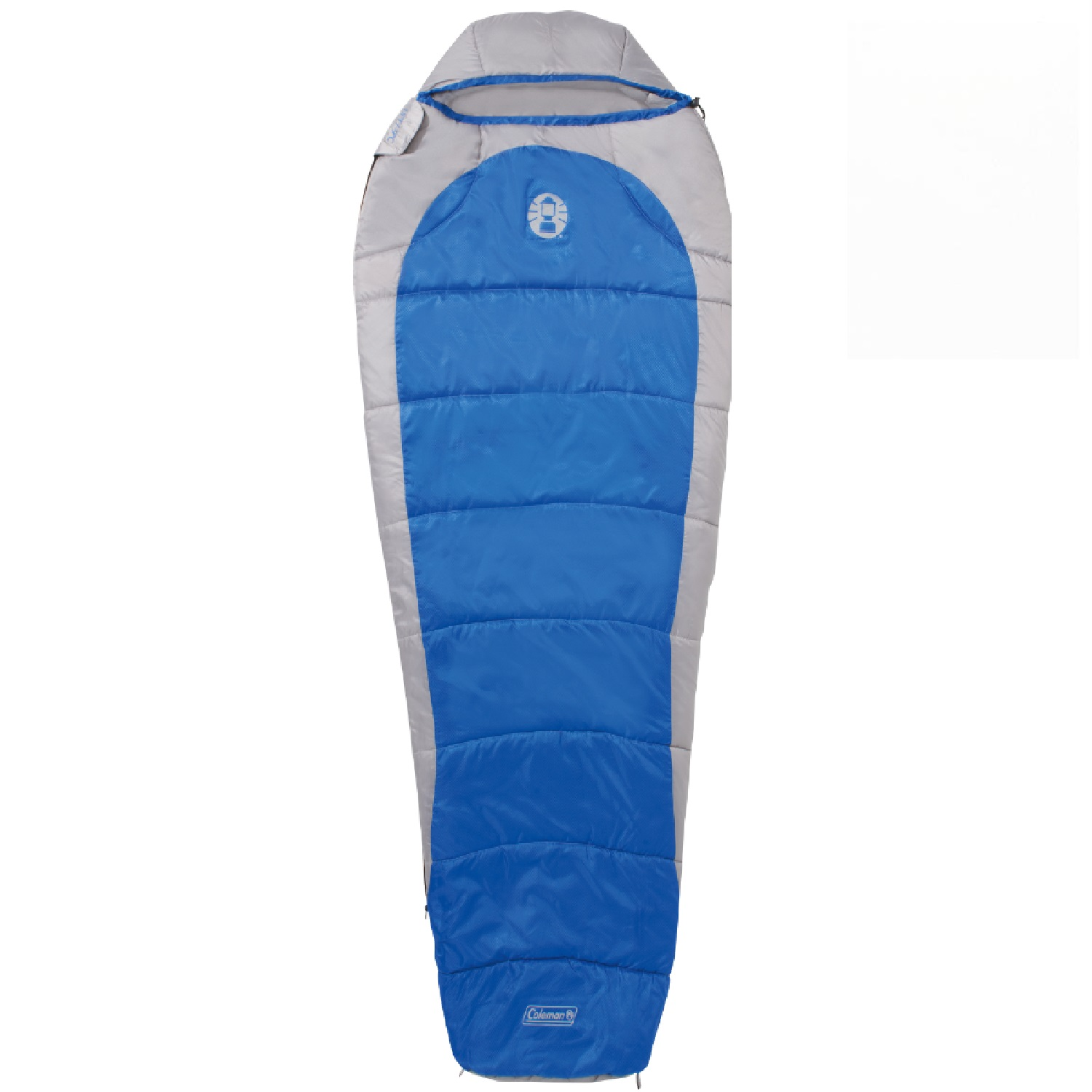 Coleman Silverton 250 Mummy Sleeping Bag Blue/Tan 2000015769