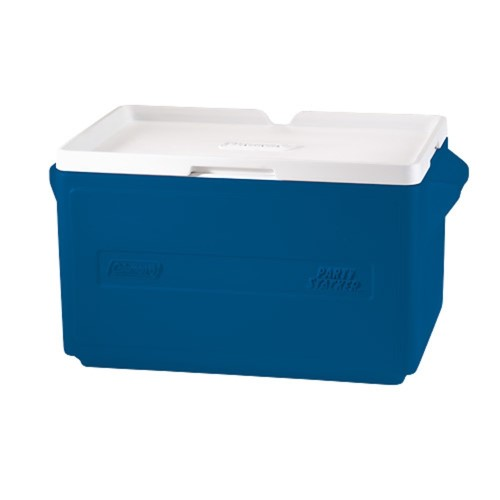 Coleman 48 Can Party Stacker Cooler Blue 3000000480