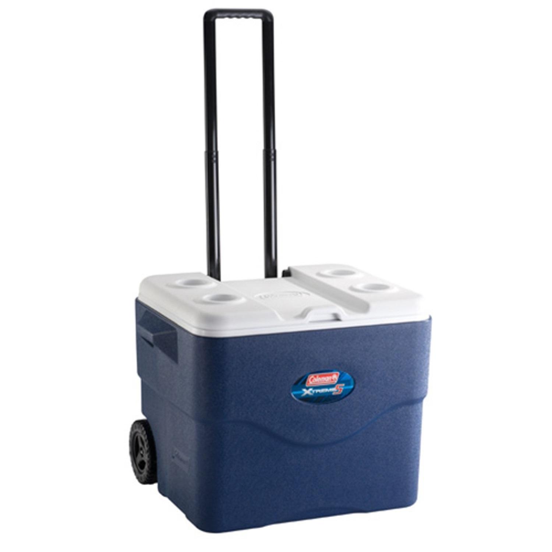 Coleman 75 Quart Xtreme Wheeled Blue Cooler 3000001733