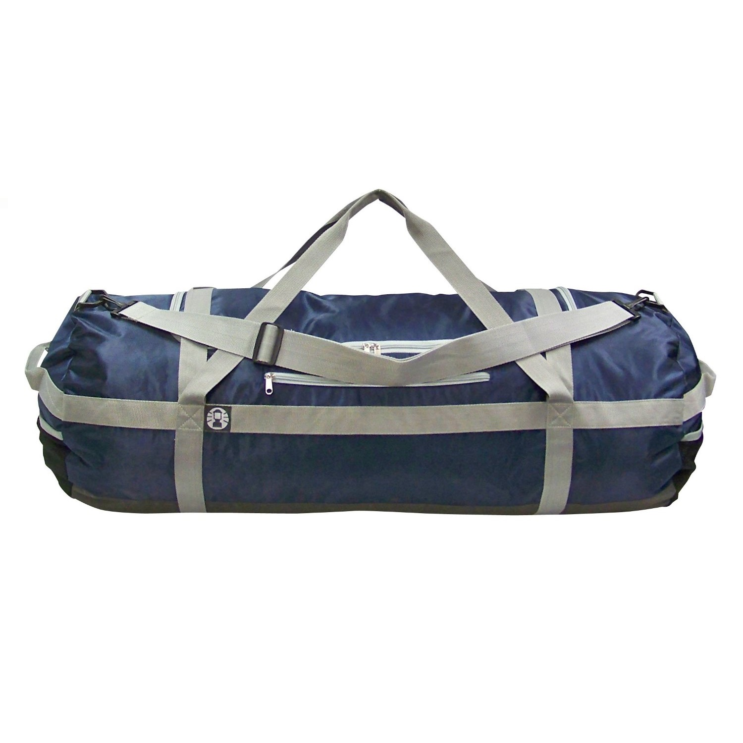 Coleman outdoor gear duffle bag 36x14 in navy gry 2000016511 for Fishing bags walmart