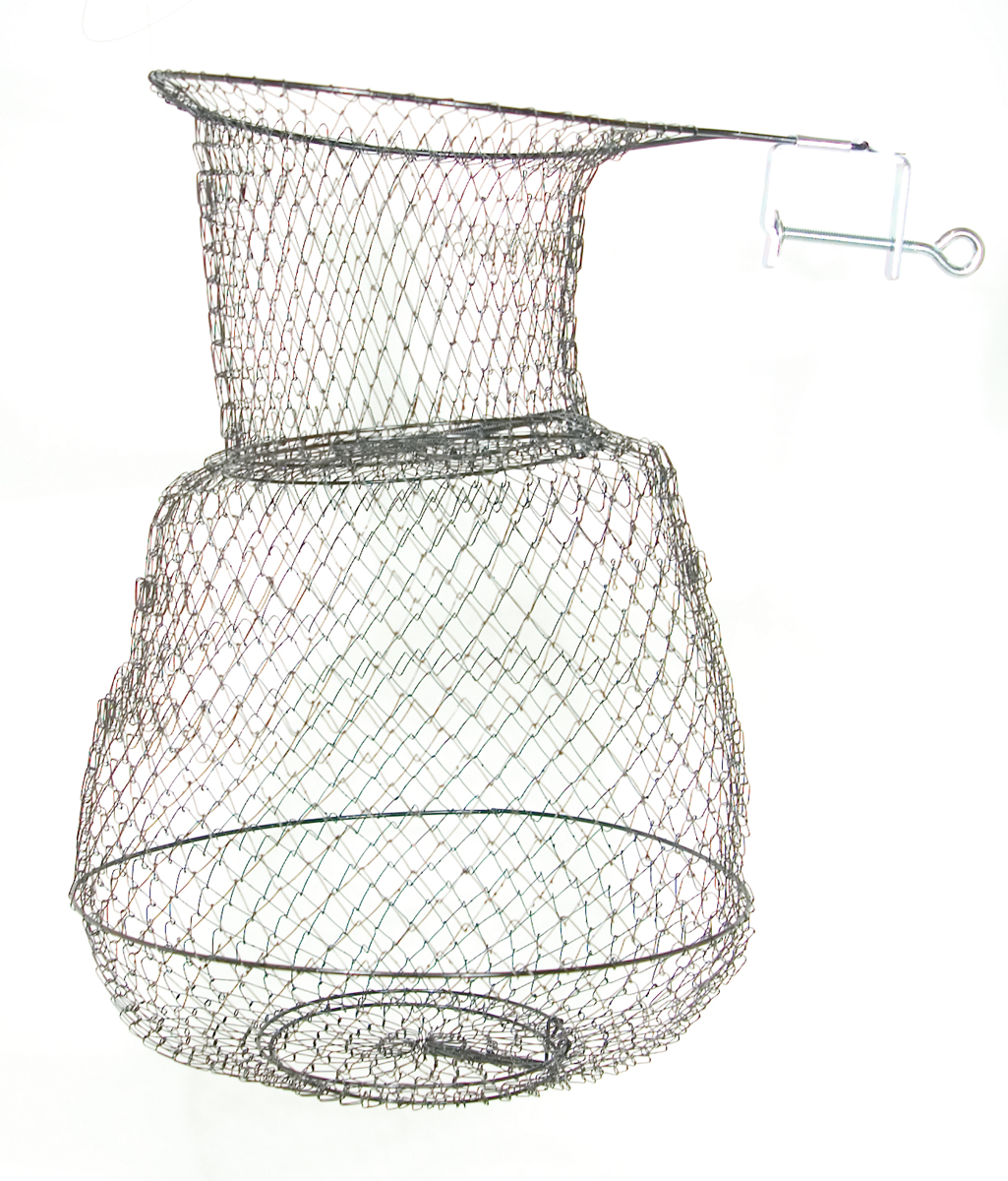 Eagle claw clamp on fish basket 14x25 for Fish wire walmart