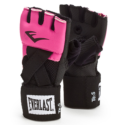 Everlast Womens Evergel Hand Wraps Large Pink