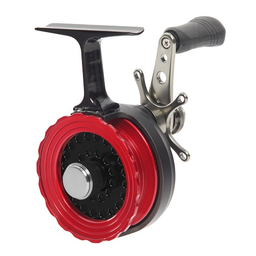 Frabill straight line 261 ice fishing reel in box for Ice fishing reel