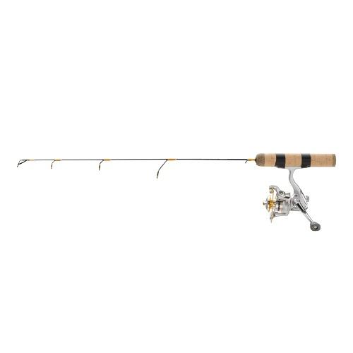 Frabill ice hunter 26 medium ice fishing rod and reel combo for Best walmart fishing pole