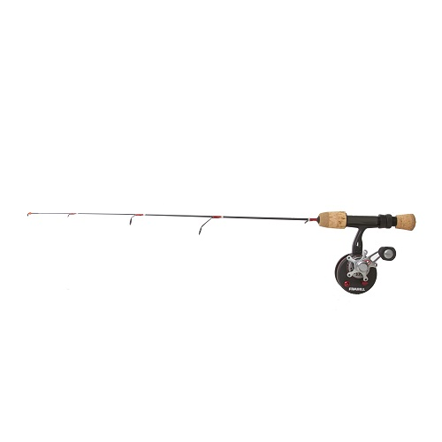 Frabill straight line 371 36 l bro series ice fish combo for Frabill ice fishing rods