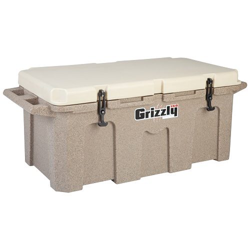Heavy Duty Coolers : Grizzly sandstone tan heavy duty cooler